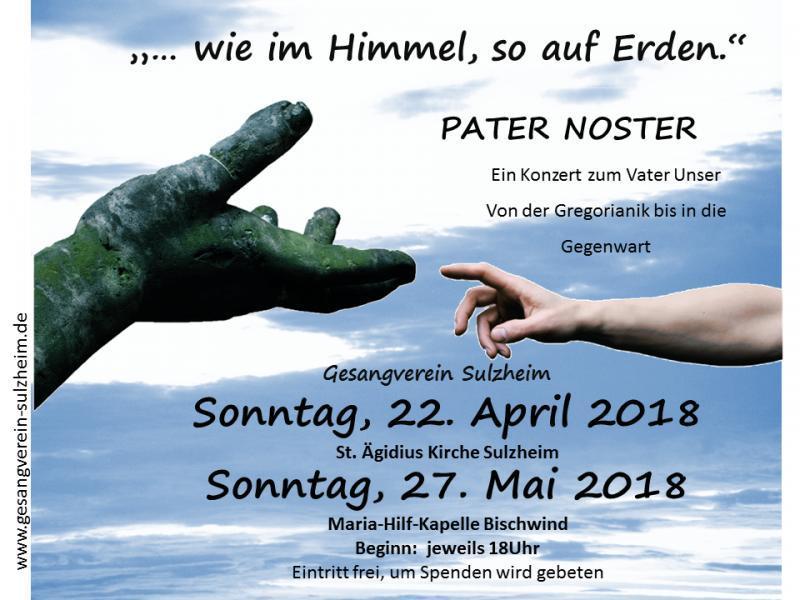 Geistliches Konzert 2018: Wie im Himmel, so auf Erden