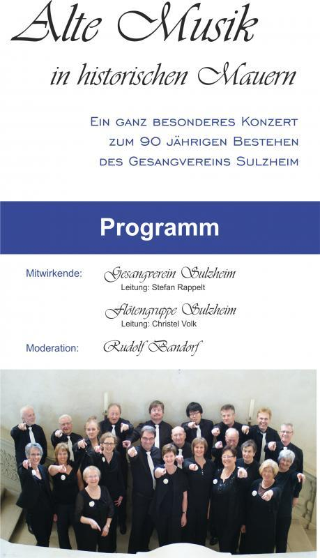 Schlosskonzert 2014: Alte Musik in historischen Mauern